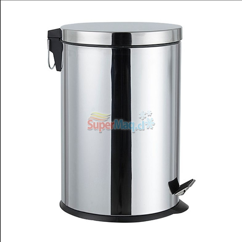 Basurero de Acero Inoxidable 8 litros
