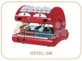 Cafetera La Pavoni modelo Hotel 2 grupo.
