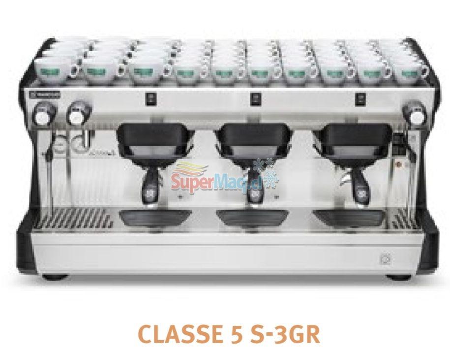 Cafetera RANCILIO Modelo Classe 5S de 3 Grupos