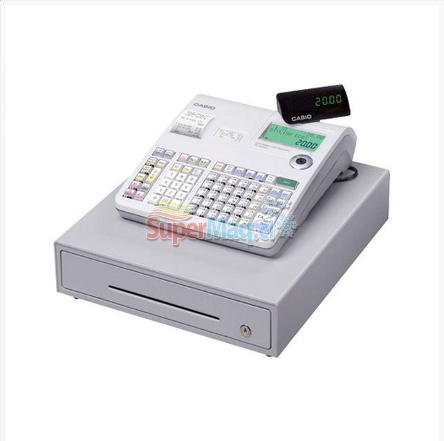 Caja Registradora Casio SE-S2000 con Scanner