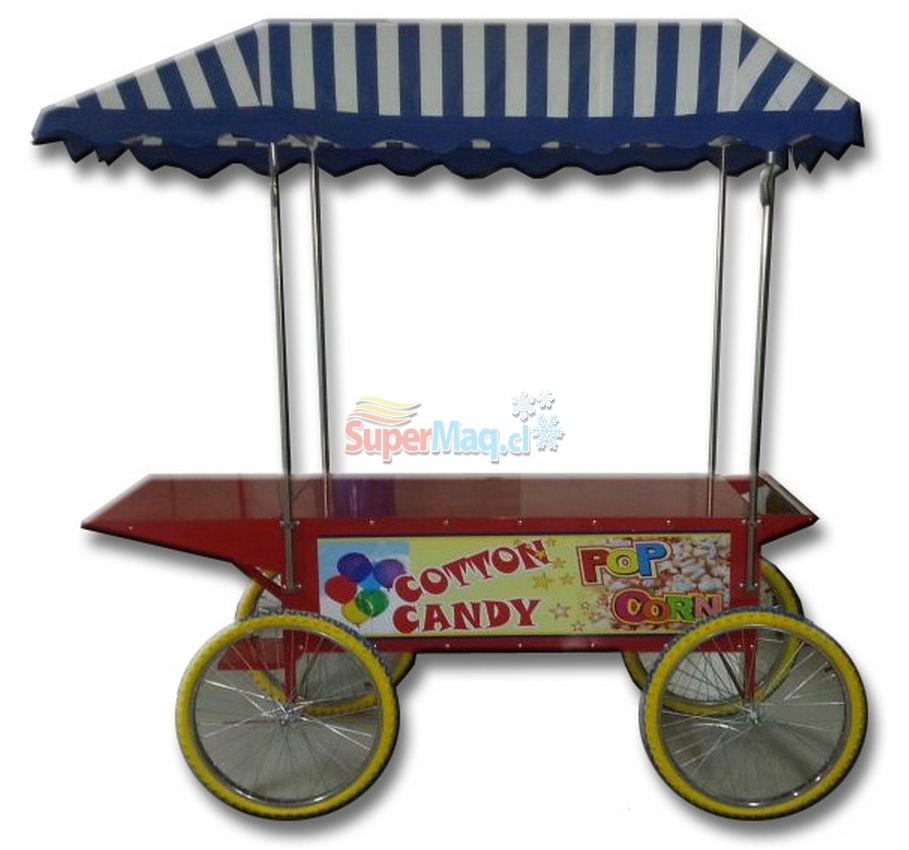 Carro Pop Corn Supermaq
