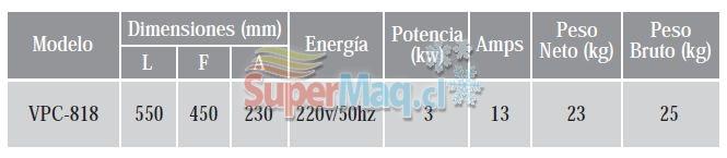 Churrasquera Electrica 550 mm