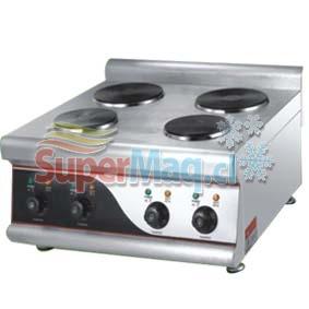 Cocina Electrica 4 Platos Sobremeson