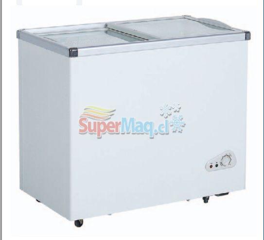 Congeladora 210 Litros Tapa de Vidrio SD210