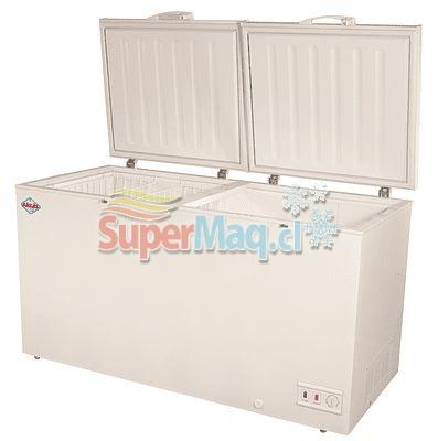 Congeladora BD522 522Lt Tapa Dura Dual