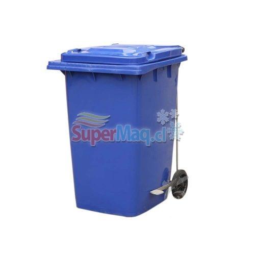 Contenedor 80 litros con pedal contenedores de basura for Llave lavamanos sodimac