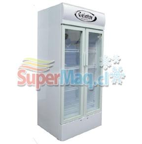 Cooler 648 Litros 2 Puertas SC648