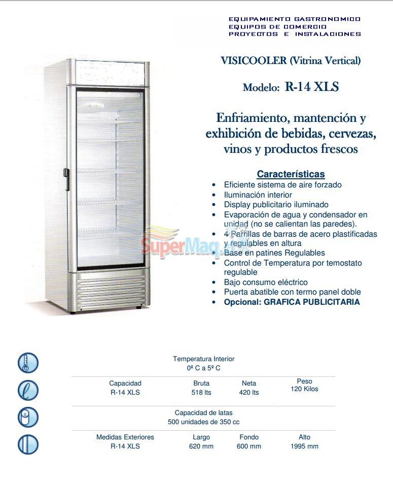 Cooler R14 420 Litros Frio Forzado