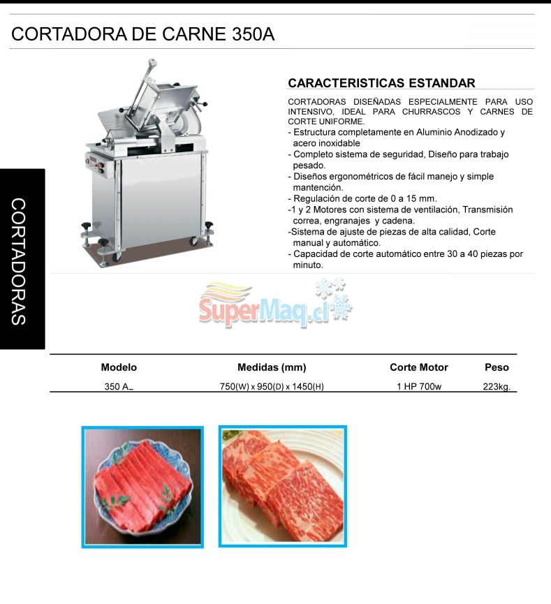 Cortadora Automatica Disco 350 mm 350A