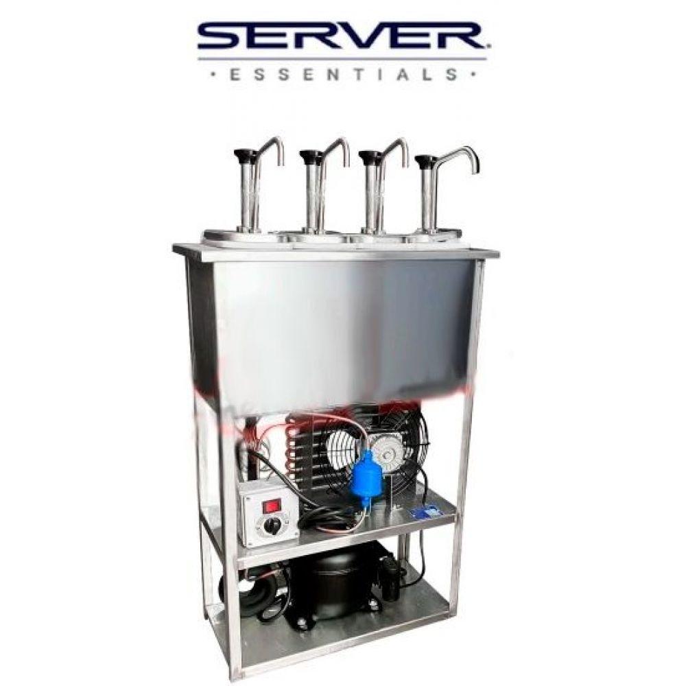 Dispensador SERVER Refrigerado 4 Bombas