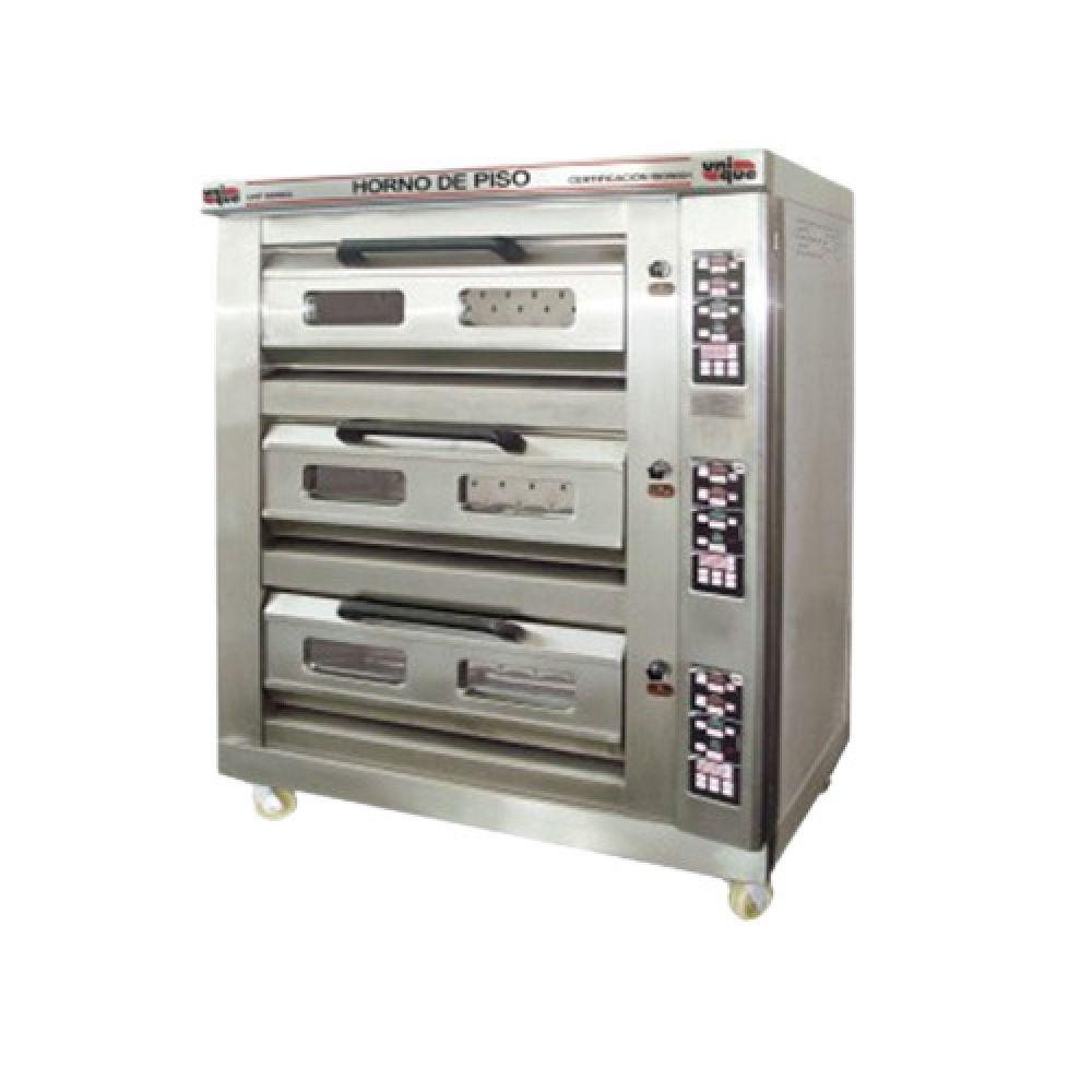 Horno de piso 3 camaras con vapor unique hornos de piso for Cocinar con horno de vapor
