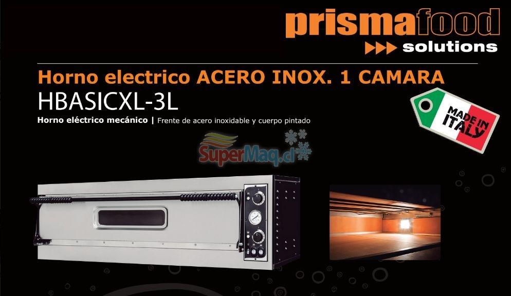 Horno Pizzero Electrico 1 Camara Prisma Food