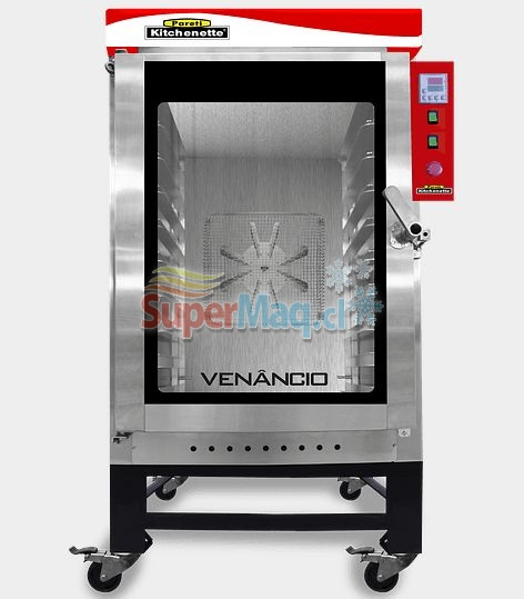 Horno Turbo a Gas 10 Bandejas VENANCIO