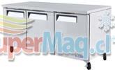 Meson Refrigerado TURBO AIR 3 Puerta 538 Lt