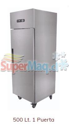 Refrigerador 500 Litros Acero Frio Forzado