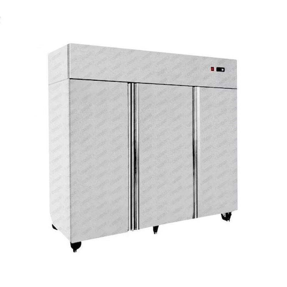 Refrigerador Acero Inox 3 Cuerpos 1200 Litros Dual