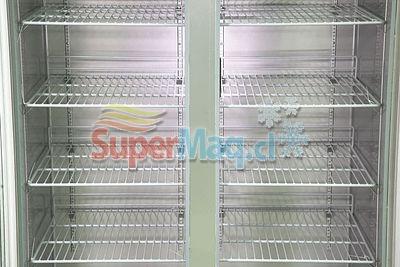 Refrigerador Congelado 2 Puertas de Vidrio 1000 Litros