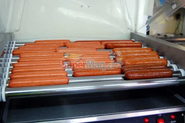 Roller Hot-Dog 11 Roller con Calentado de Pan