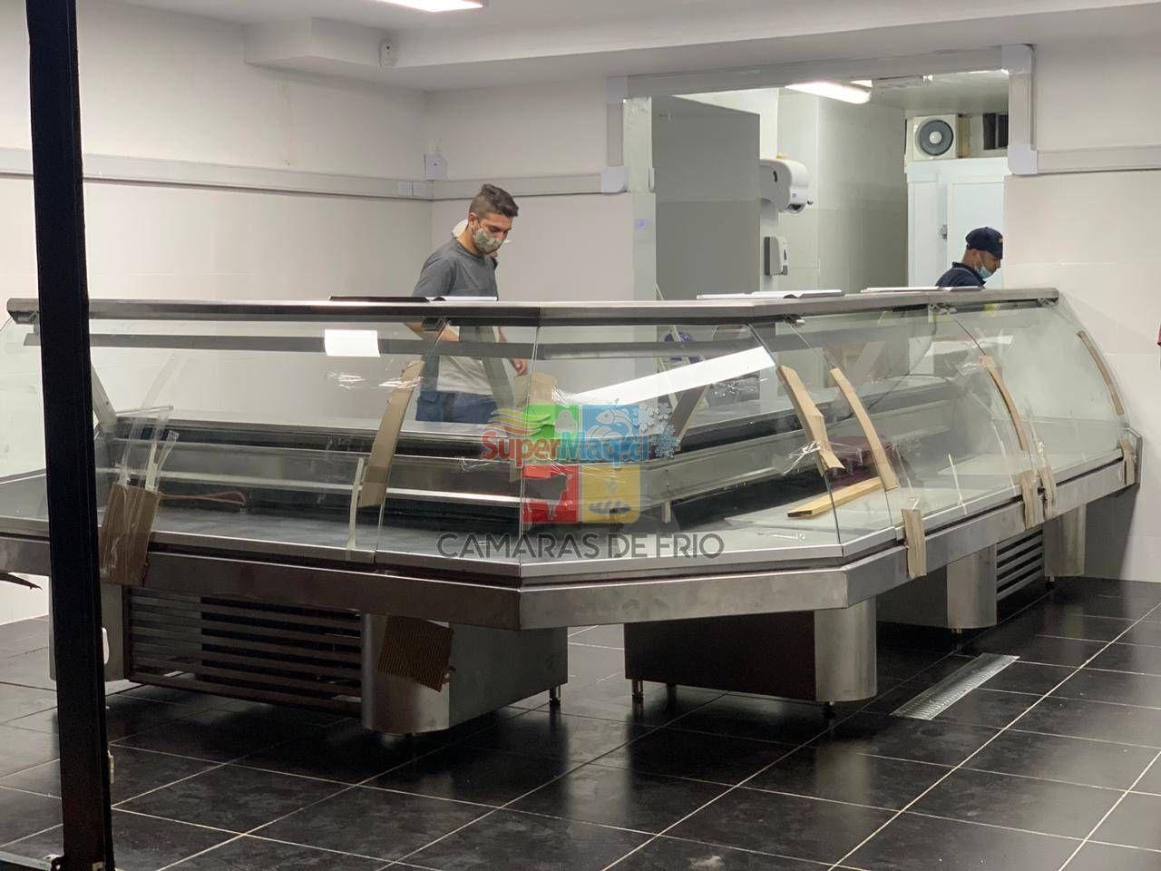 Vitrina de congelados Pata Pilar Metro lineal
